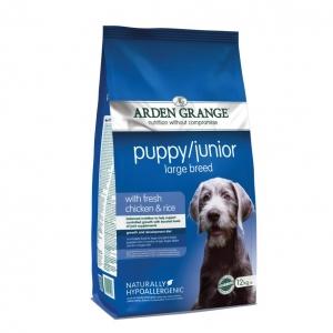 Arden Grange Puppy Junior Large Breed Food with Chciken