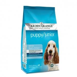Arden Grange Puppy Junior Food with Chicken