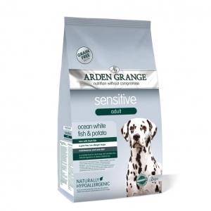 Arden Grange Sensitive Adult Dog Food with Ocean White Fish