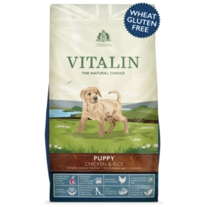 Vitalin Puppy Food with Chicken and Rice