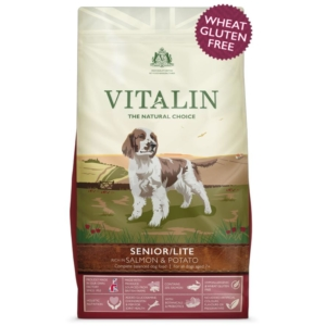 Vitalin Senior Dog Food with Salmon and Potato