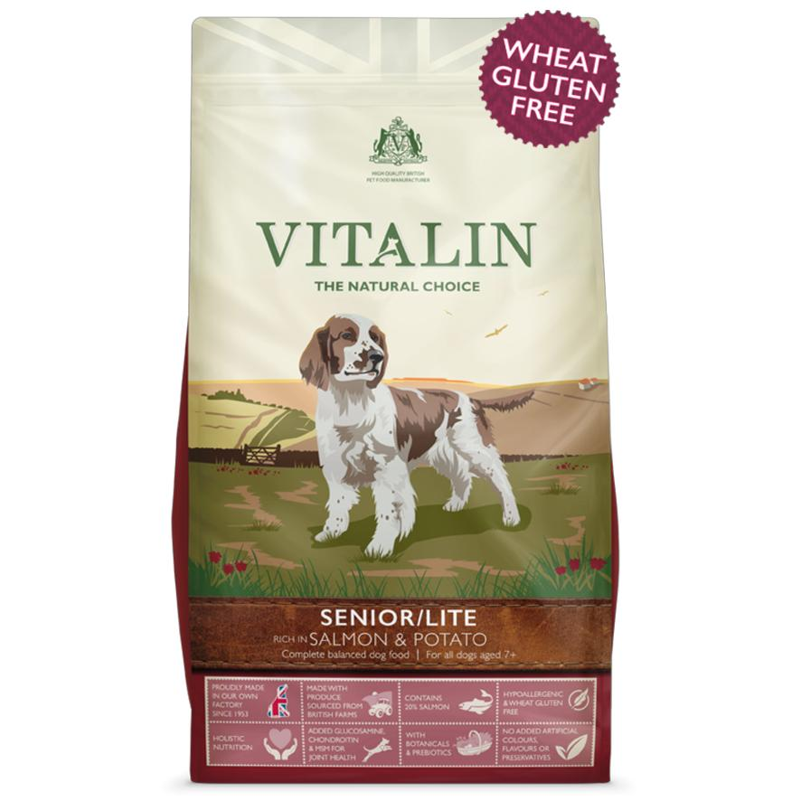 Vitalin Senior Dog Food With Salmon And Potato 115960