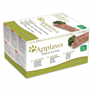 Applaws Country Fresh Pate for Cats 7 x 100gm