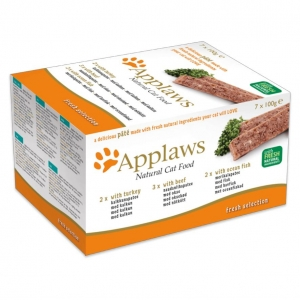 Applaws Fresh Selection Pate for Cats 7 x 100gm