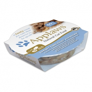 Applaws Pots Tuna Fillet with Prawn for Cats 10 x 60gm