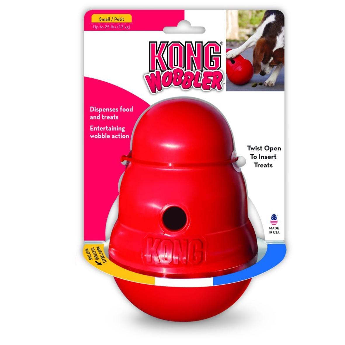KONG Wobbler Red