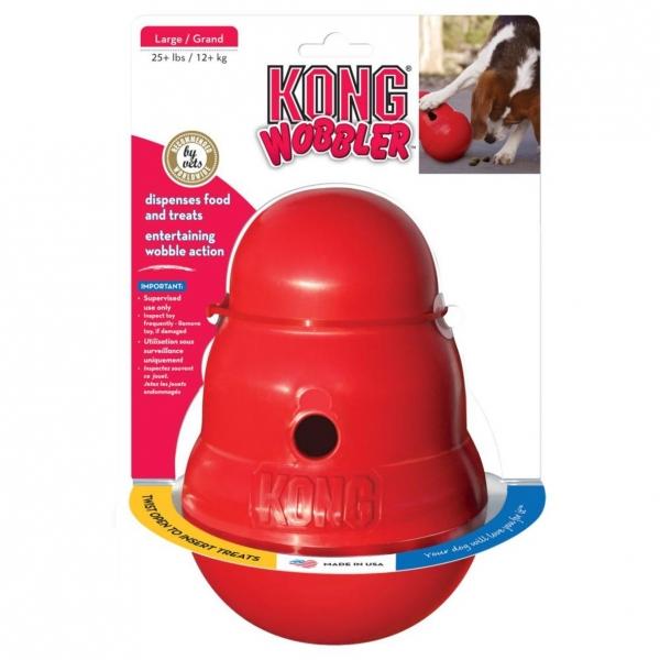 KONG Wobbler Red LARGE