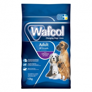 Wafcol Adult Dog Food with Chicken and Corn (Grain Free)