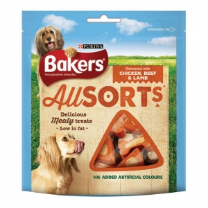 Bakers Allsorts Chicken, Beef and Lamb 98gm