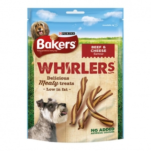 Bakers Whirlers Beef and Cheese Flavour