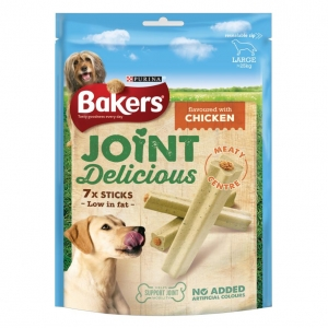 Bakers Joint Delicious Sticks Large chicken Flavour 7pcs