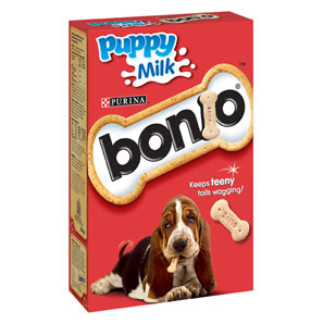 Bonio Puppy Milk Biscuits 350gm