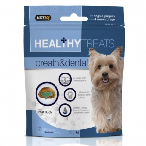 VetIQ Healthy Treats Breath & Dental 70gm