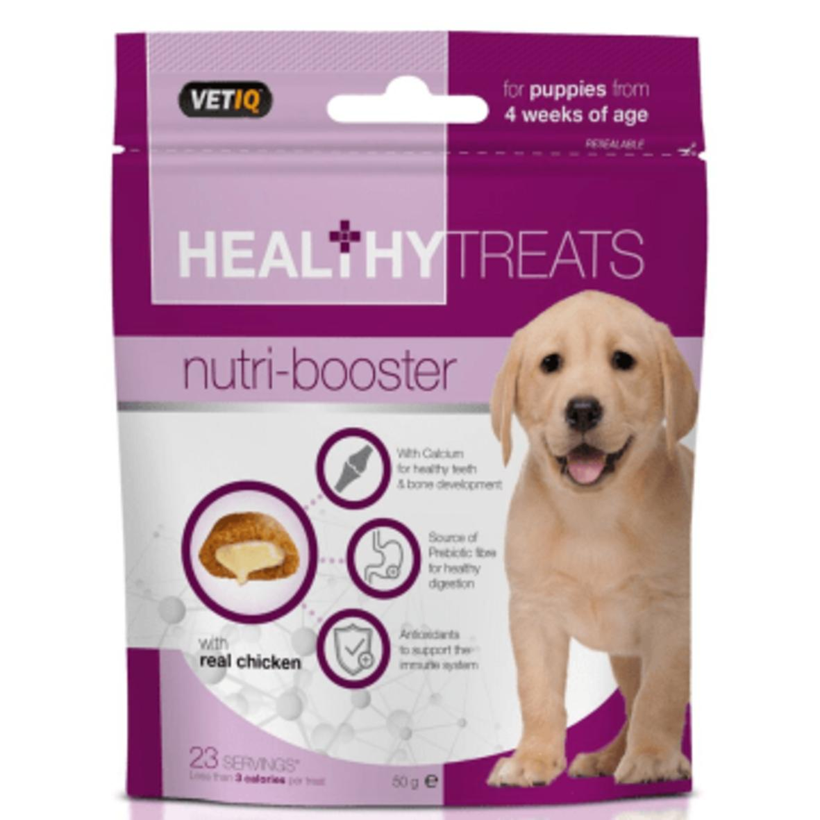 CLEARANCE VetIQ Healthy Treats NutriBooster for Puppies 50gm