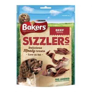 Bakers Sizzlers Beef Flavour 120gm