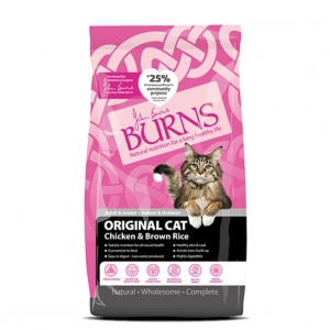 Burns Original Cat Chicken & Brown Rice