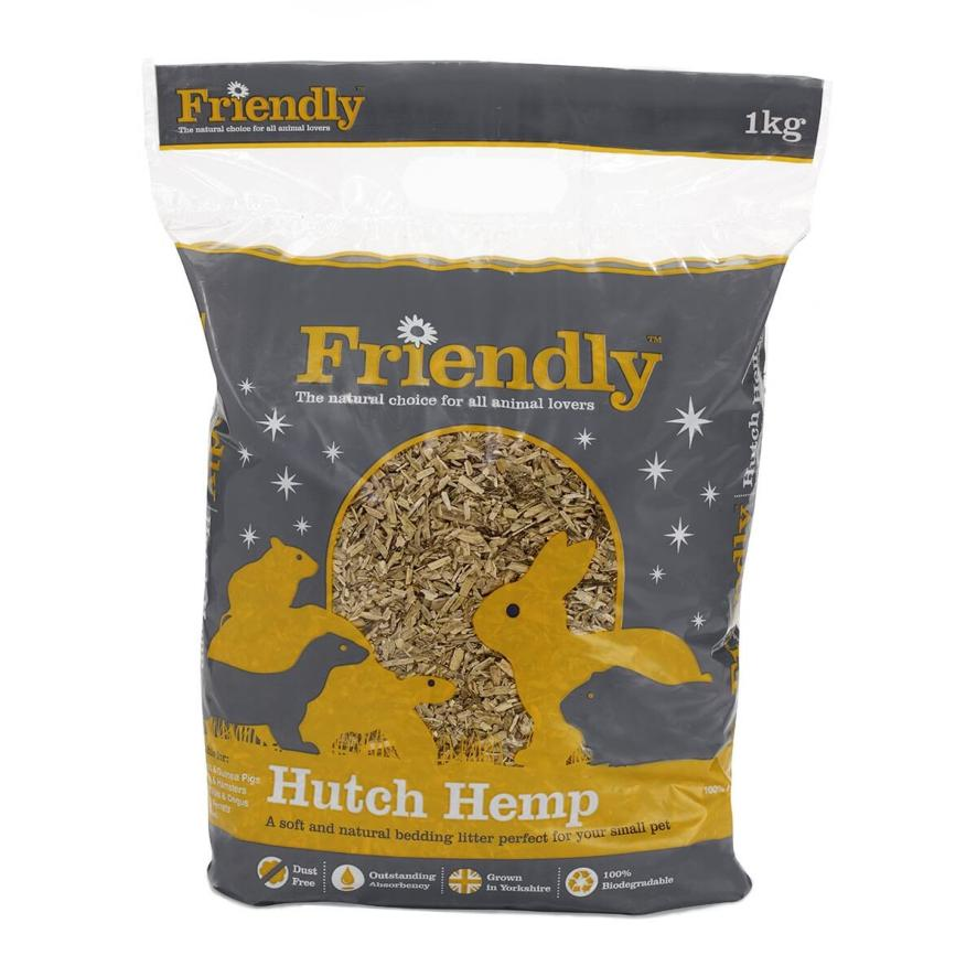 CLEARANCE Friendly Hutch Hemp 1kg