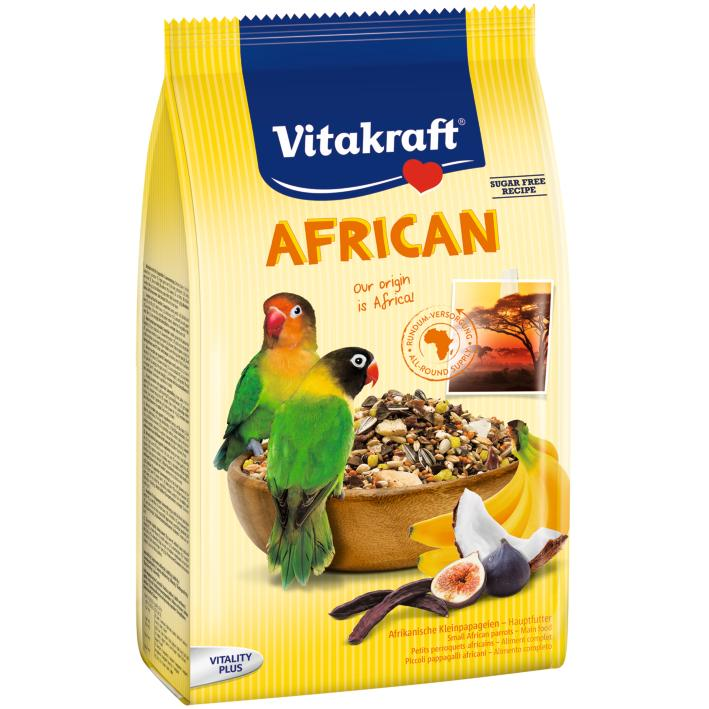 Vitakraft African Parrot Food Small Breed 750gm