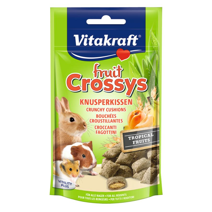 CLEARANCE Vitakraft Fruit Crossys with Tropical Fruits 50gm
