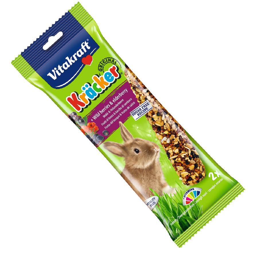 Vitakraft Rabbit Kracker Sticks with Wild Berries and Elderberry 2pcs