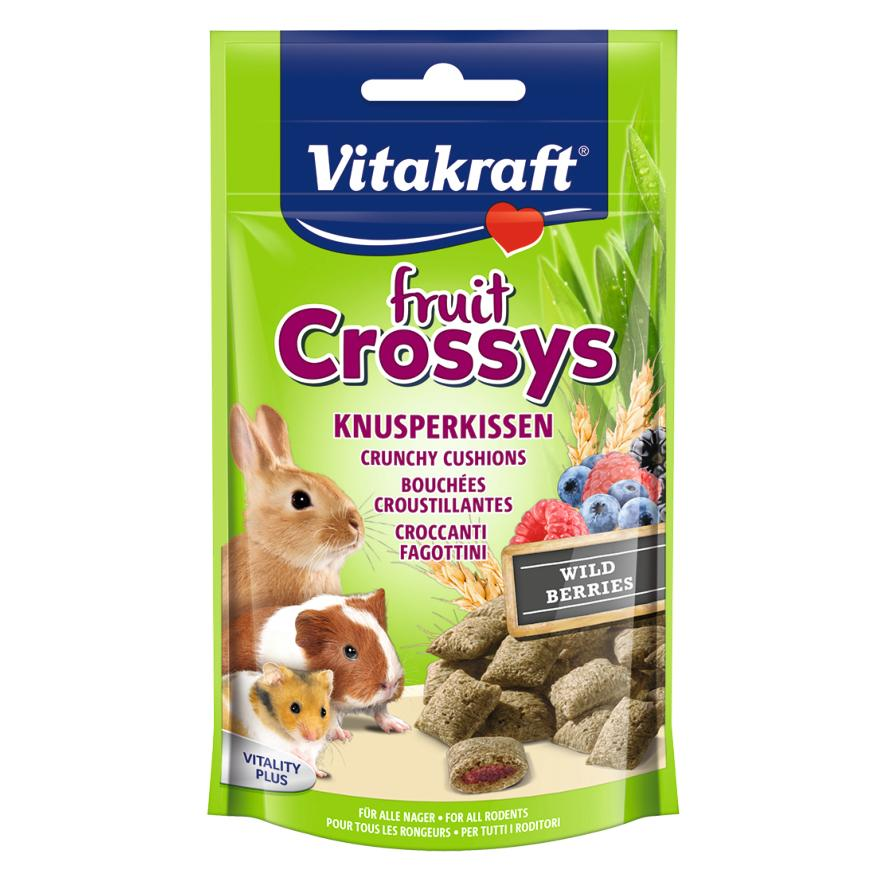 CLEARANCE Vitakraft Fruit Crossys with Wild Berries 50gm