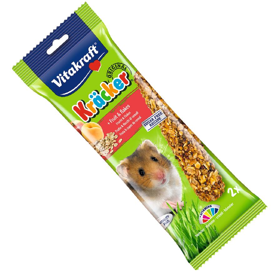 Vitakraft Hamster Kracker with Fruit and Flakes 2pcs