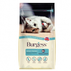 Burgess Kitten Food Chicken 1.5kg