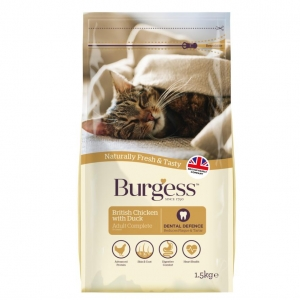 Burgess Cat Food Chicken with Duck