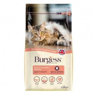 Burgess Cat Food Scottish Salmon