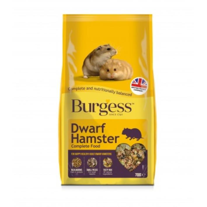 Burgess Dwarf Hamster Food
