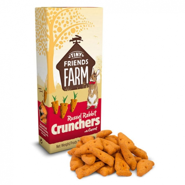 Tiny Friends Farm Crunchers with Carrot 80g