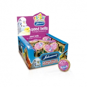 Johnsons Seed Bells for Budgies 34gm