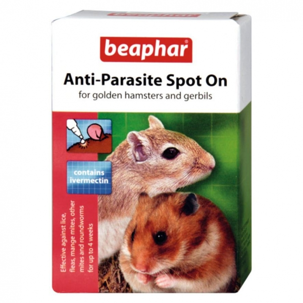 Beaphar Anti Parasite Spot On for Golden Hamsters and Gerbils