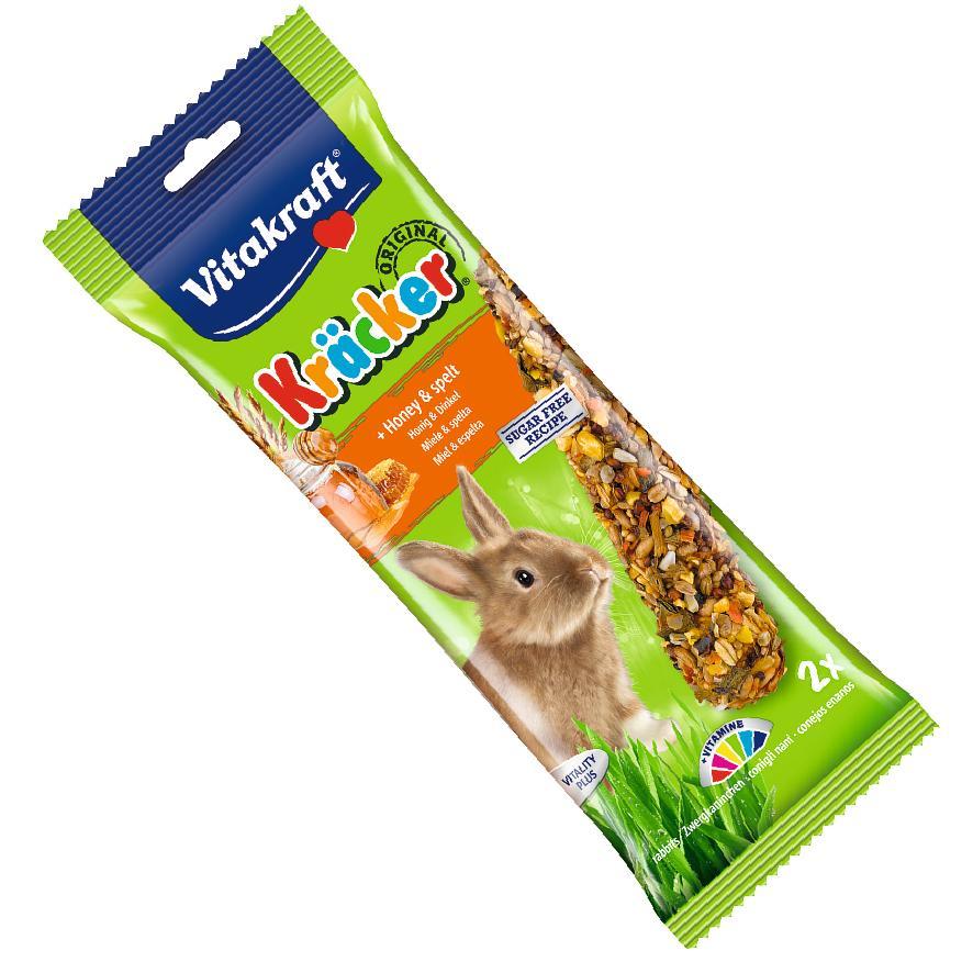 Vitakraft Rabbit Kracker Sticks Honey and Spelt 2pcs