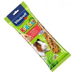 Vitakraft Guinea Pig Kracker with Fruit and Flakes 2pcs