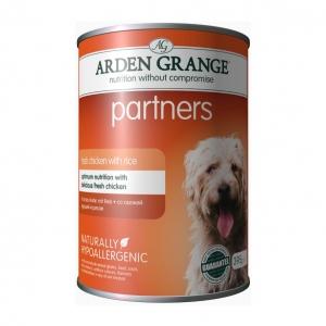 Arden Grange Partners Tins with Chicken 24 x 395g