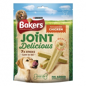 Bakers Joint Delicious Sticks Medium Chicken Flavour 7pcs
