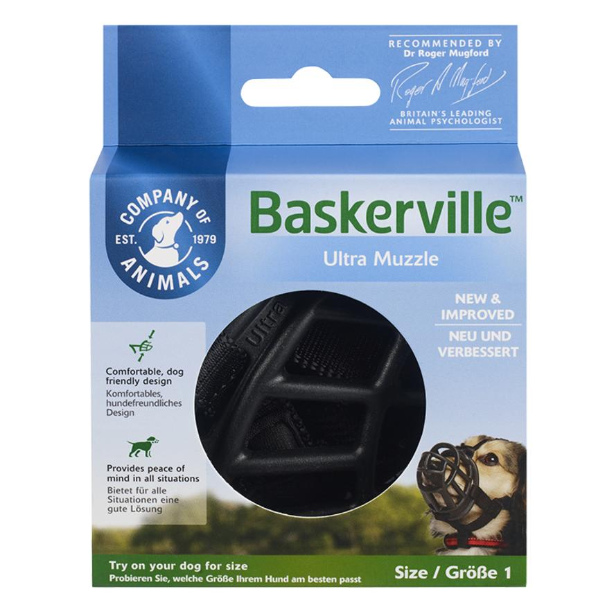 CLEARANCE Baskerville Ultra Muzzle Size 1