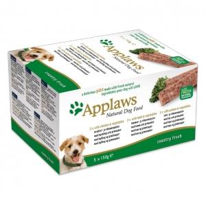 Applaws Country Fresh Pate Multipack 5 x 150gm (Grain & Gluten Free)