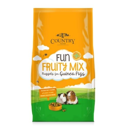 Country Values Fruity Mix Nuggets for Guinea Pigs 1.5g