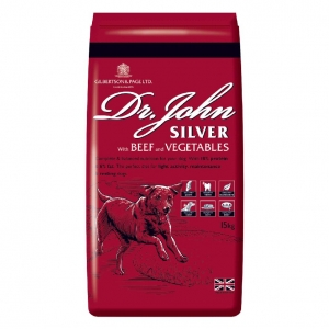 Dr John Silver with Beef and Vegetables 15kg