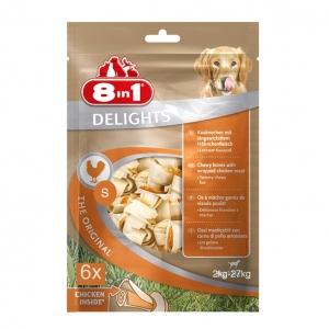 8 in 1 Delights Bone Value Bag Chicken SMALL 6pcs