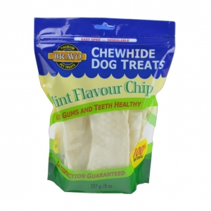Bravo Rawhide Chips Mint Flavour 227gm