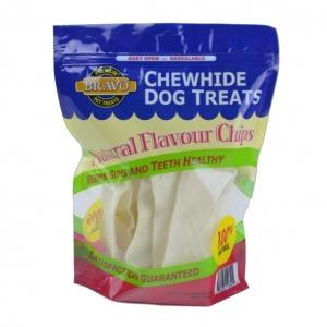 Bravo Rawhide Chips Natural 227gmBravo Rawhide Chips Natural 227gm