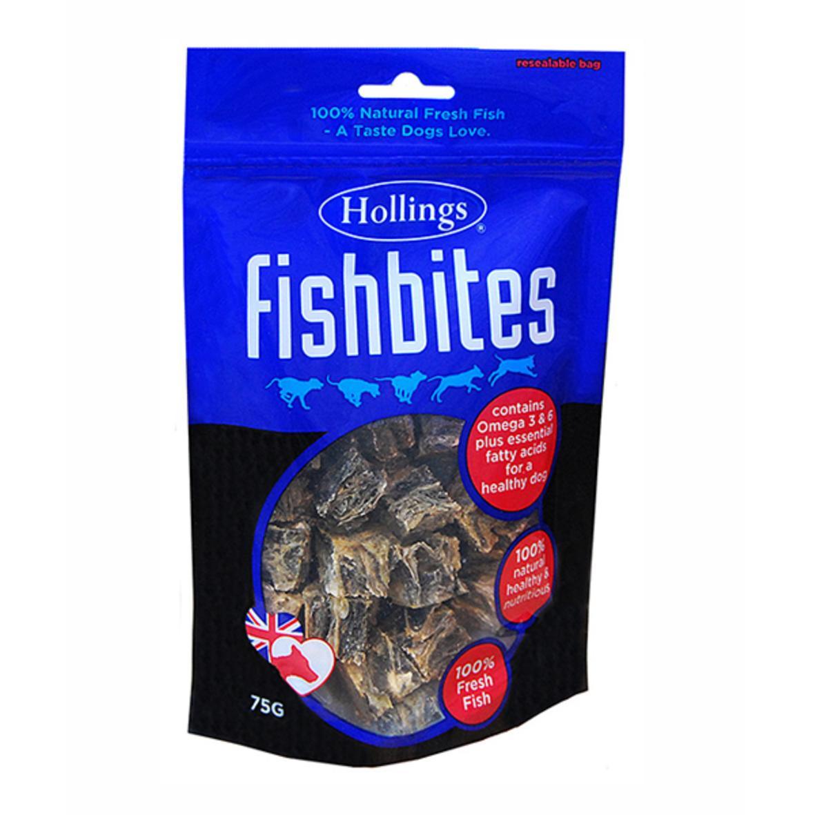 Hollings Fishbites 75gm