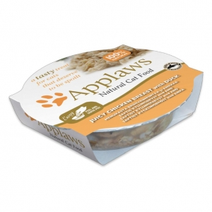 Applaws Pots Chicken Breast with Duck in Broth for Cats 10 x 60gm