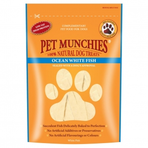 Pet Munchies Ocean White Fish 100gm