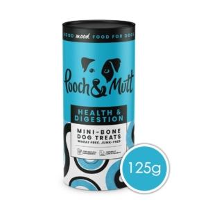 Pooch & Mutt Health & Digestion Mini Bone Treats 125gm