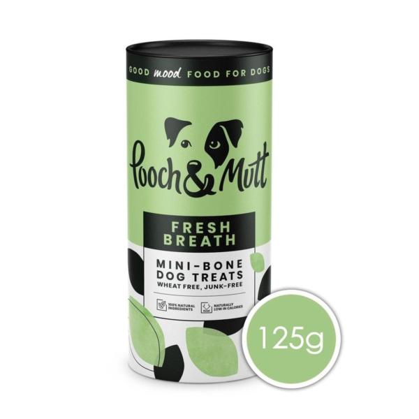 Pooch & Mutt Fresh Breath Mini Bone Treats