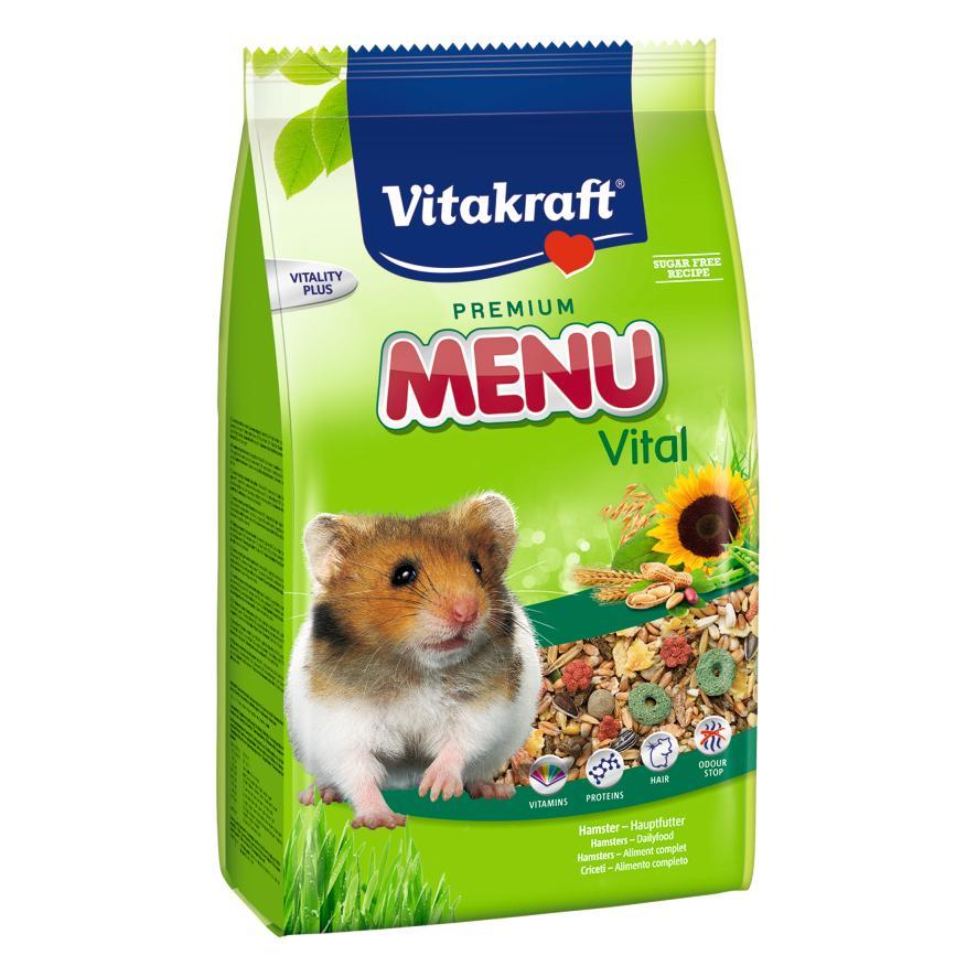 CLEARANCE Vitakraft Hamster Menu Food 1kg (Damaged)